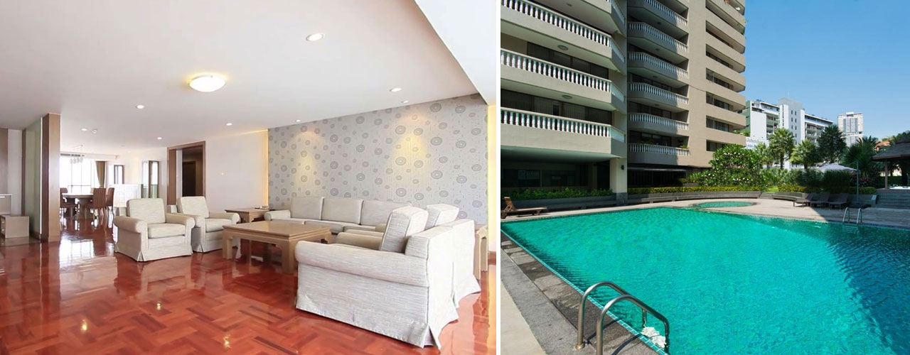 Asa Garden - Sukhumvit 24 - Bangkok apartments for rent
